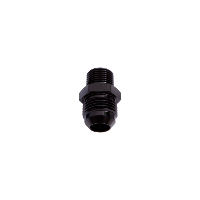 10An 10AN Black Male M18x1.5mm to Aeroflow AF734-10BLK Metric M18 x 1.5mm to