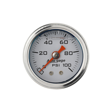 0-100PSI PRESSURE GAUGE LIQ FILLED