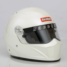 RACEQUIP VESTA15 Snell SA2015 FULL FACE HELMET WHITE MEDIUM