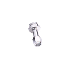 -6AN HOLLEY CARB INLET 4150   SILVER SWIVEL NUT (PAIR)