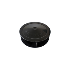 "Black Air Filter Assembly with 1-1/8"" Drop base"
