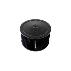 "Black Air Filter Assembly 9"" x 5"", 5-1/8"" neck"