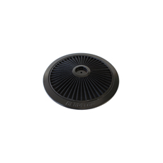 Black Full Flow Air Filter Top Plate