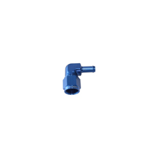 FEMALE -6AN 90DEG TO 5/16 BARBBLUE SWIVEL NUT