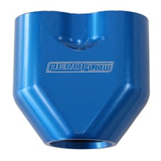 AEROFLOW -10AN TO 2x-8AN      FEMALE ORB Y- BLOCK BLUE