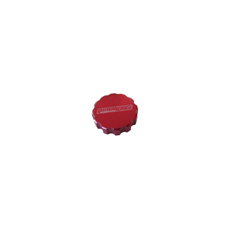AEROFLOW RADIATOR CAP COVER   LARGE STYLE CAP RED