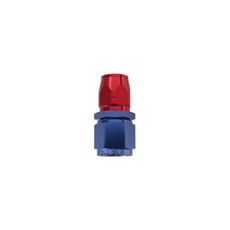 STEPPED STRAIGHT END -6 HOSE  TO -8AN REDUCER HOSE END BLUE