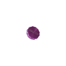 REPLACEMENT BILLET CAP SUITS  -16 BASE PURPLE ANODISE FINISH