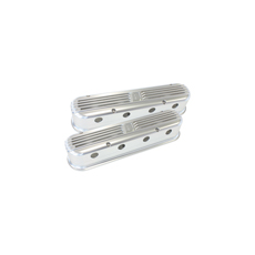 BILLET LS SERIES RETRO COVERS - SILVER