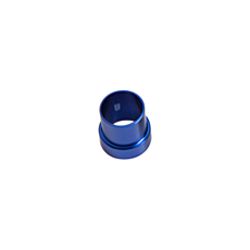 "TUBE SLEEVE -3AN TO 3/16"" TUBEBLUE -3AN FITS OVER 3/16"" LINE"
