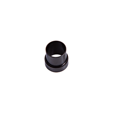 "TUBE SLEEVE -3AN TO 3/16"" TUBEBLACK -3AN FITS OVER 3/16""LINE"