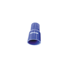 "Silicone Hose Reducer Str BlueI.D .70-.50"" 16-13mm, Wall 4.5mm, 127mm Long"