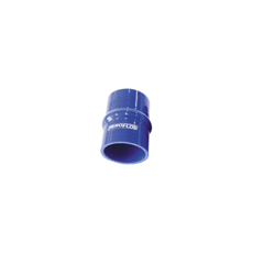 "Silicone Hump Hose Str Blue   I.D 2.00"" 51mm, Wall 5.3mm,   100mm Long"