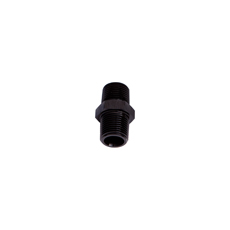 "MALE COUPLER 1/8"" NPT         BLACK MALE TO MALE"