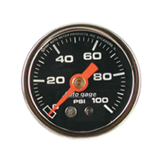 1-1/2' 0-100PSI FUEL PRESS GAUGE