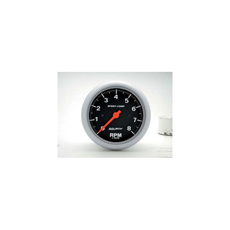 "3-3/8"" TACH, 8,000 RPM, IN-DASH"