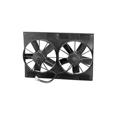 SPAL 11' DUAL FAN & SHROUD KIT H.D. 2720CFM