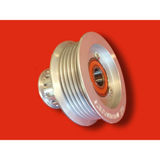 GZ LS IDLER PULLEY WITH GILMER VAC PUMP PULLEY