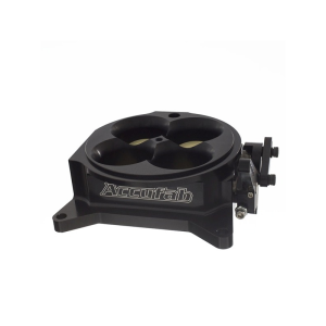 ACCUFAB 4500 FOUR BARREL THROTTLE BODY BLACK