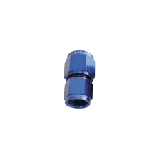 SWIVEL COUPLER REDUCER -8AN   TO -6AN BLUE FEMALE COUPLER