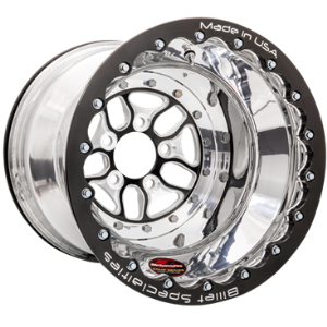 "BILLET SPECIALTIES COMP 7 15 X 10 4"" BS 4.50"" BLK DOUBLE B/LOCK"