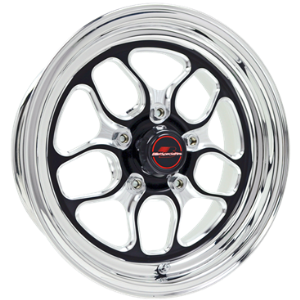 "BILLET SPECIALTIES WIN LITE 15 X 8 3.5""BS 4.50"" BLACK"