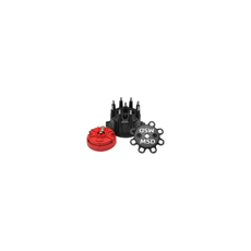 MSD SMALL DIAMETER DIST CAP & ROTOR BLACK