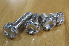 NOTCHEAD 1/4'-20 X 0.5 STAINLESS BOLT