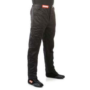 RACEQUIP SFI-5 2 LAYER PANTS BLACK MEDIUM